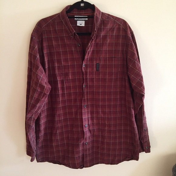 Columbia Other - COLUMBIA Long Sleeve Button Down Plaid Shirt